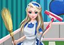 Elsa Clean House