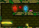 Fireboy and Watergirl 2 in Forest Temple
