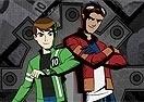 Herois Unidos Mutante Rex e Ben 10
