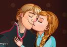 Kristoff Kiss Anna