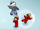 Luta de Bolas de Neve!