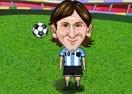 Messi Juggling Football