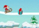 Pai Natal e o caminho de neve!