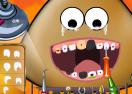 Pou at the Dentist