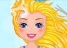 Shelly's Barbie Haircut