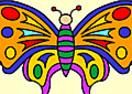 Vamos colorir a borboleta?