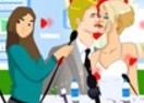 Victoria e Beckham Kissing