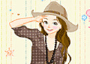 Western Girl Dress Up